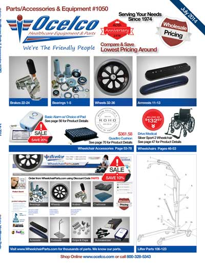 Wheelchair Parts Catalog